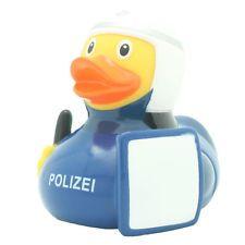 LiLaLu Badeente Quietsche Ente Gummi Ente Bereitschaftspolizei Polizist (1884)