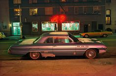 Eerie portraits of cars in 1970s New York – in pictures
