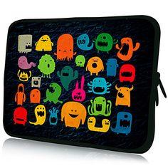EUR € 10.11 - Patrones divertido Nylon Material de caja de la manga impermeable de 11 / 13 / 15 Laptop y Tablet, ¡Envío Gratis para Todos lo...