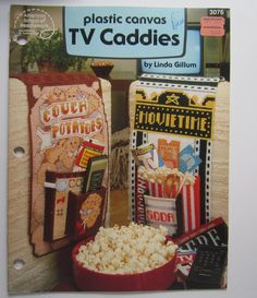 Plastic Canvas Patterns TV Caddies Plastic Canvas Booklet