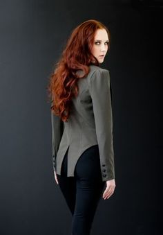Caitlin Power fitted tailcoat
