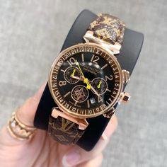 Women watches stainless steel quartz wristwatches leather strap ⌚myalleshop Wristwatches, Rolex Watches, Quartz, Stainless Steel, Luxury, Leather, Accessories, Products, Women