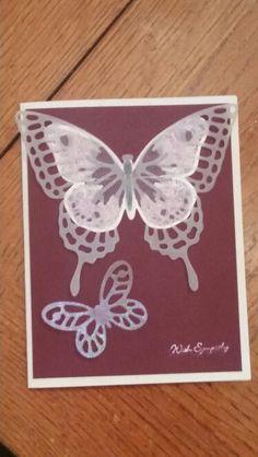 Sympathy card SU