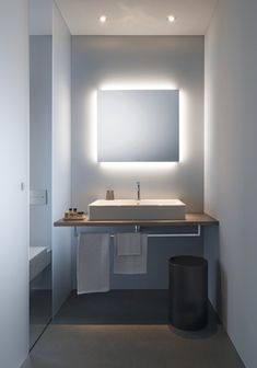 Wellness in your own bathroom with quality bathroom furniture and modern sanitary ware from Duravit. Duravit is a leading European and German sanitary ware brand In India. Bathroom Mirror Cabinet, Medicine Cabinet Mirror, Mirror Cabinets, Led Bathroom Lights, Bathroom Light Fixtures, Bathroom Lighting, Cool Mirrors, Bathroom Photos, Bathrooms