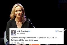 When she taught us an important lesson about social media. | 18 Times J.K. Rowling Was The Undisputed Queen Of Twitter