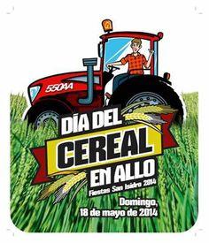 Elaboración de folleto e imagen para la celebración del Día del Cereal en Allo - Calle Mayor Comunicación y Publicidad