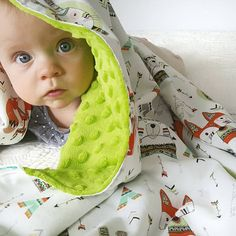 Super soft cuddly baby blanket made with 100% cotton in animal print on the front and green plush minky on the back. Perfect for a little girl or boy!  Hiku Blankets are available in super generous size (approx 28 x 37) ideal for a stroller/buggy, swaddle, cotbed or as a tummy time playmat. About Hiku Minky Blankets:  Minky is a medium weight plush fabric which is incredibly soft and cuddly. Its lush texture is smooth and fur-like soft. **Once touched causes a great urge to snuggle, cudd... Pink Blanket, Minky Baby Blanket, Stroller Blanket, Soft Baby Blankets, Tummy Time, Cuddling, Baby Car Seats, Little Girls, Plush