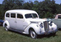 1938 Packard Eight Henney ambulance