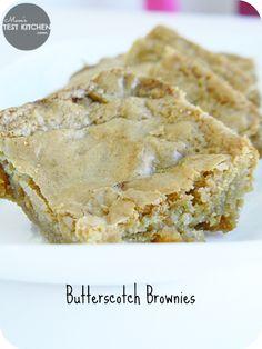 Mom's Test Kitchen: Butterscotch Brownies