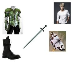 """""""off to fight"""" by maddijo-1 on Polyvore featuring Beautiful People, Rick Owens, men's fashion and menswear"""