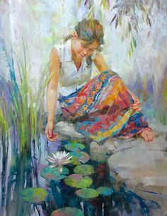 Fine Art and You: John Micheal Carter | American Figurative Painter | 1950