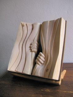 wood carving by Nino. My dad would have LOVED the work that went into this.
