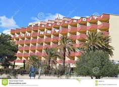 A hotel in Santa Pola Spain has been invaded by graffiti artists.