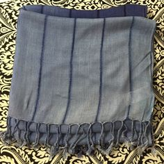 Ombré Scarf Light weight Ombre Scarf. 100cotton 80ins long. Accessories Scarves & Wraps