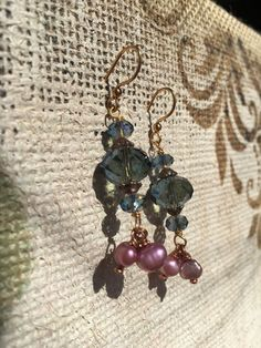 Purple skies by PearlOwlBoutique on Etsy