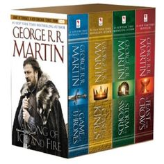 A Song of Ice and Fire, Books 1-4 by George R.R. Martin