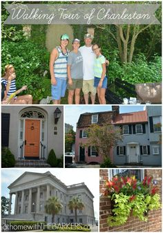 Walking Tour of Charleston SC is the best way to see the city! #Charleston