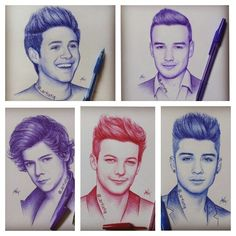 Drawings of One Direction