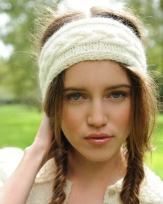 Winter Headbands on Pinterest Rosie Riveter, Headband Pattern and Alpacas