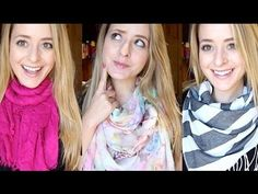 How to: Wear a Scarf  Really awesome, cute, different ways to wear a scarf.