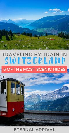 Switzerland is one of the most beautiful countries in the world to travel by train. Here are 6 of my favorite spots to travel by Swiss train!