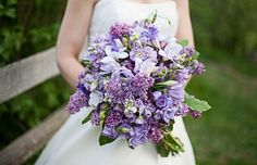 restaurant ,  Real Wedding ,   ,  flowers ,  purple ,