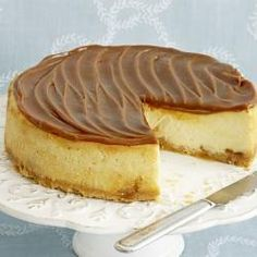 Toffee-chocolade Cheesecake