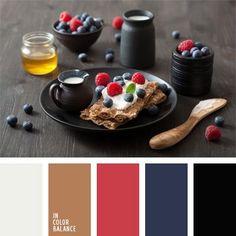 azul arándano, color arándano, color blanco lechoso, color cerámica negra, color frambuesa, color negro, colores azul oscuro y negro, colores negro madera y frambuesa, elección del color, selección de colores para una cocina.