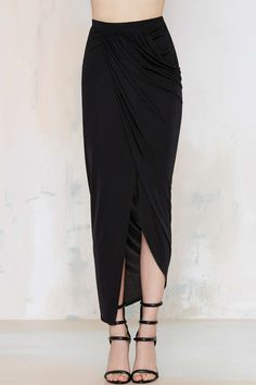 Lioness Over and Over Wrap Skirt | Shop Clothes at Nasty Gal!