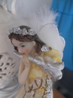 Angel, melek, beyaz, tatlı, heykel