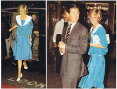 On Wednesday July 20th in 1983, Prince Charles and Princess Diana attended a charity concert at the Dominion Theatre in London in aid of The Prince's Trust and the Mencap charity.