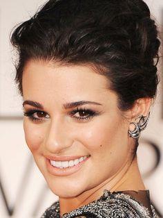 Lea Michele Golden Globe Awards 2012