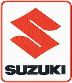 Suzuki Logo Machine Embroidery Design Embroideres