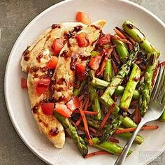 Balsamic chicken and