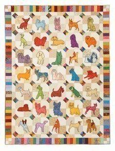 Dog quilt!