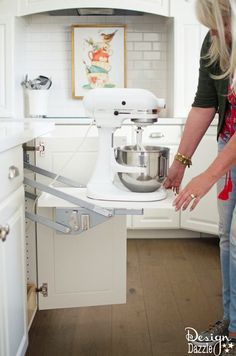 Kitchen Aid Storage | Design Dazzle