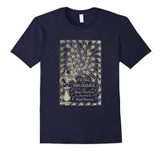 Amazon.com: Pride and Prejudice Peacock Jane Austen Gift T shirt: Clothing