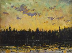 Arthur Lismer - Sunrise (1914) Arthur Lismer, CC (27 June 1885 – 23 March 1969) was an English-Canadian painter and member of the Group of Seven.