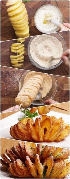 BATATA FURACÃO   A MELHOR BATATA DO MUNDO! (super fácil de fazer e sabor indescritível) To apaixonada por essa delícia! #batata #batatafuracão