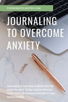 Journaling to Overcome Anxiety - How I use it and you can use it too! As part of my therapy to recover from severe generalized anxiety, it was suggested that I created a new habit and it was to start writing down my thoughts and feelings daily. I was introduced to journaling to overcome anxiety in ...