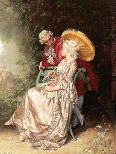 Charles-Alexandre Coessin De La Fosse (1829-1910) Франция