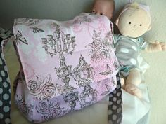 Hey, I found this really awesome Etsy listing at https://www.etsy.com/listing/167618463/doll-diaper-bag-ready-to-ship