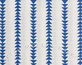Half Yard Quilt Blocks Flying Geese Stripe in Marine Blue, Ellen Luckett Baker, Moda Fabrics, 100% Cotton Fabric
