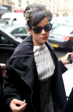 Reliving an old Style & Beauty Crush: Lily Allen