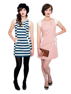 Chloe dress. 2 versions included. Downloadable sewing patterns form Victory Patterns. $9.95