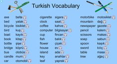 144 Best Turkish language images in 2019 | Turkish language