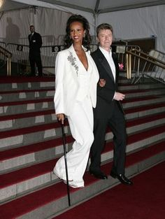 David Bowie and Iman's Cutest Pictures | POPSUGAR Celebrity  Image Source: Getty / James Devaney
