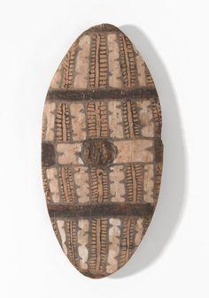Rainforest shield | Unknown~Queensland Aboriginal | NGV