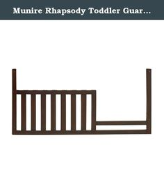 Munire Rhapsody Toddler Guard Rail. The Munire Rhapsody Toddler Guard Rail easily converts your Munire Rhapsody Crib into a safe, secure toddler bed! Timeless design and quality craftsmanship ensure your child will have this bed for years to come. Available in your choice of color to coordinate with current crib's finish. Hardware and assembly instructions are included. About Munire Furniture Munire Furniture's mission is simple: to bring you superior-quality furniture for your kids'...