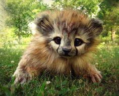 Невероятно реалистичные игрушки животных от Ли Кросс - YouLoveIt.ru